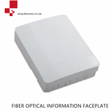 Fiber optical information faceplate
